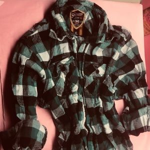 BOGO Sovereign code kids Y2K flannel grunge boy XL